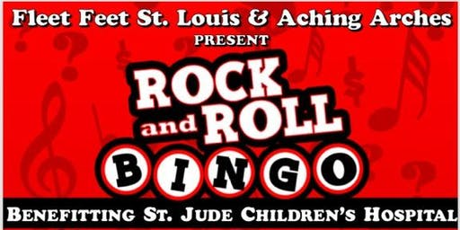 Rock & Roll Bingo benefiting St. Jude Children's Research Hospital
