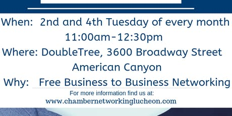Chamber Networking Luncheon tickets