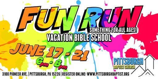 Fun Run Vacation Bible School 2019