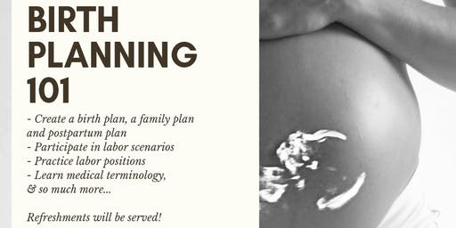 Birth Planning 101 (Moms Only Edition)
