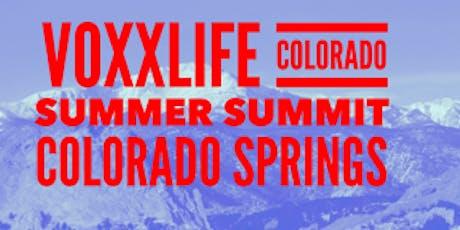Voxxlife Colorado Summer Summit Colorado Springs tickets