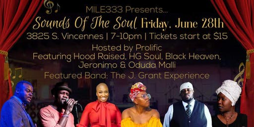 Sounds of the Soul R&B and Spoken Word Concert