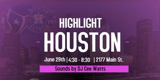 VENDORS WANTED FOR HIGHLIGHT HOUSTON