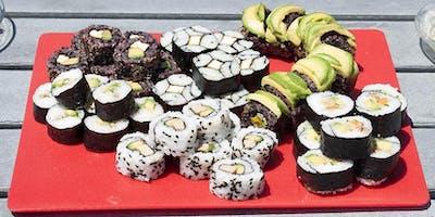 Vegan Sushi Class with Chef Acooba Scott