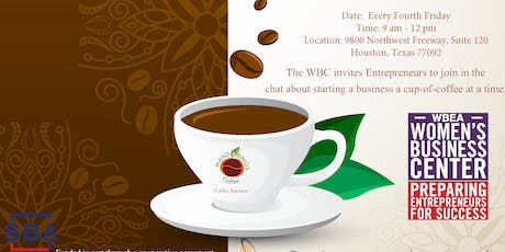 Fourth Friday Small Business Coffee Chat tickets