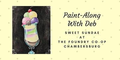 Treat Yourself Tuesday Paint-Along - Sweet Sundae