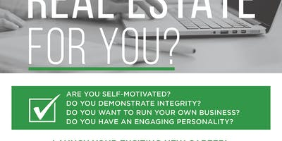 Jump-Start Your Real Estate Career!