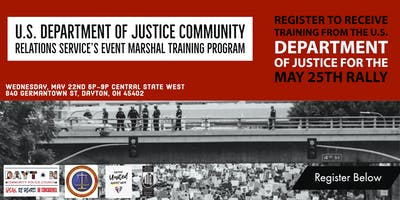 Department of Justice Event Marshal Training