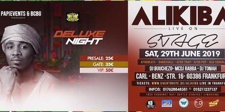 ALIKIBA LIVE IN FRANKFURT tickets