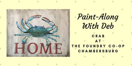 Treat Yourself Tuesday Paint-Along - Crab tickets