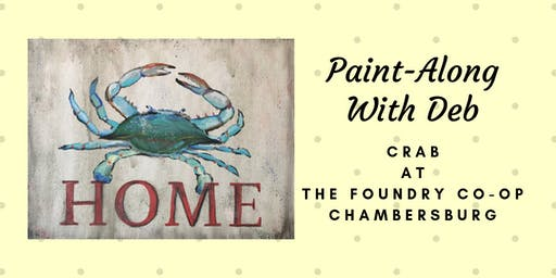 Treat Yourself Tuesday Paint-Along - Crab