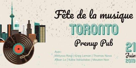 Fête de la Musique au Prenup Pub à Toronto ! tickets