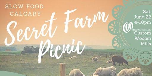 Secret Farm Dinner