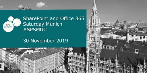 SharePoint and Office 365 Saturday Munich 2019