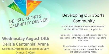 Delisle Sports Celebrity Dinner tickets