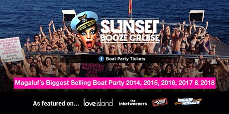 Sunset Booze Cruise Boat Party Magaluf Tickets