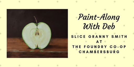 Treat Yourself Tuesday Paint-Along - Slice Granny Smith Apple