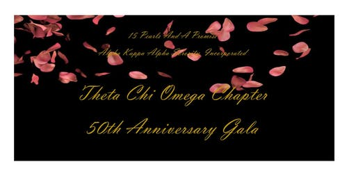 """A Rose Gold Affair""  Theta Chi Omega Chapter's 50th Anniversary Gala"