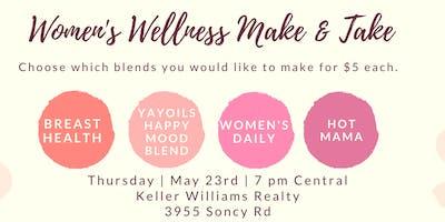 Women's Wellness Make & Take