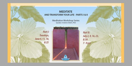 Meditate and Transform Your Life
