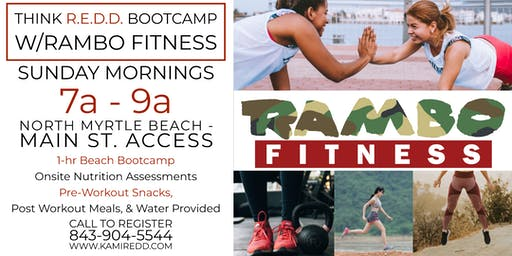Think REDD Beach Bootcamps