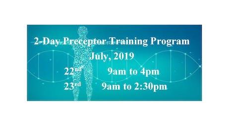 2-Day Preceptor Training tickets
