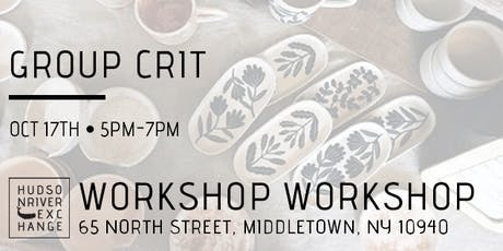 Group Crit at Workshop Workshop - October tickets