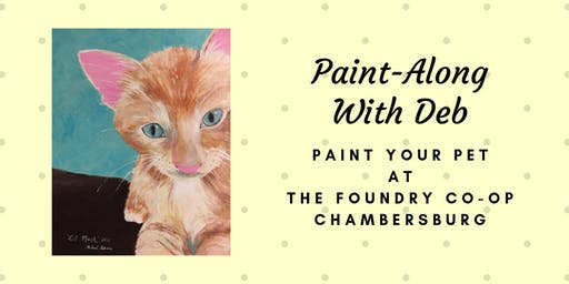 Treat Yourself Tuesday Paint-Along - Paint Your Pet
