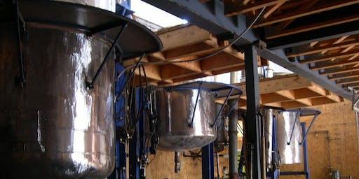 Atelier de distillation d'huile essentielles (cours 146)