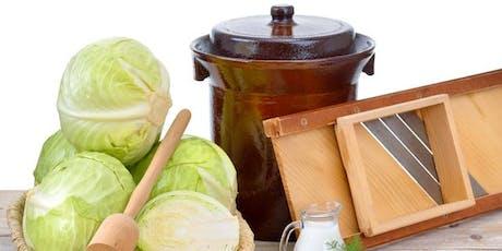 Fermenting Vegetables - Sauerkraut tickets