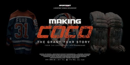 Kelowna première of Making Coco: The Grant Fuhr Story