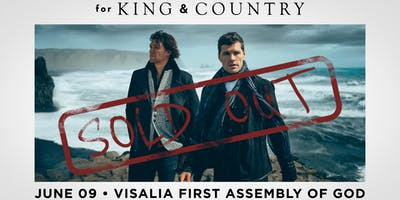 for KING & COUNTRY | burn the ships 2019 | Visalia, CA