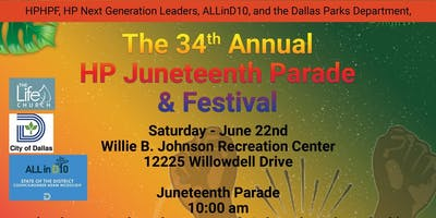 34th Annual Hamilton Park Juneteenth Parade and Festival