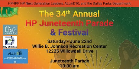 34th Annual Hamilton Park Juneteenth Parade and Festival  tickets