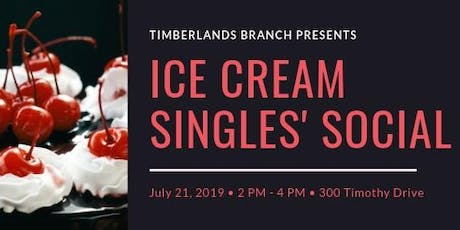 RDPL - Ice Cream Singles' Social tickets