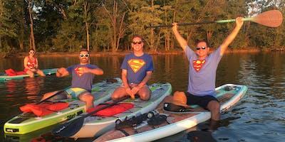 Superhero SOCIAL Paddle | Paddleboarders & Kayakers