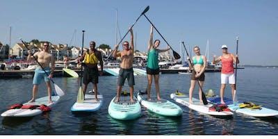Lake Yoga Tribe CARDIO Paddle | Paddleboarders & Kayakers