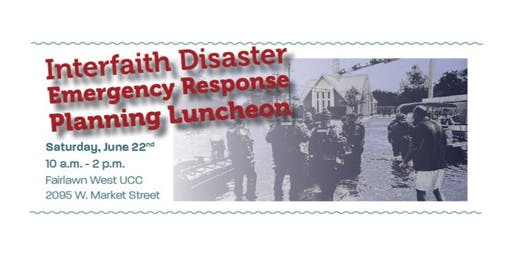 IDERP - Interfaith Disaster Emergency Response Planning Luncheon