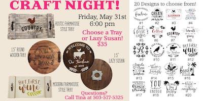 Diana's Craft Night
