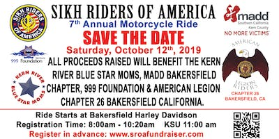 7th Annual Motorcycle Ride