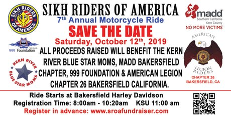 7th Annual Motorcycle Ride tickets