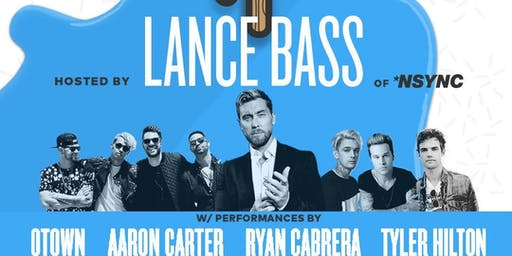 VIP Experience with Lance Bass - San Diego County Fair