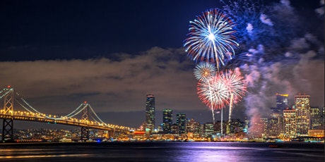 WE'RE OPEN - San Francisco 4th of July 2020 Find the Fireworks Cruise!! tickets