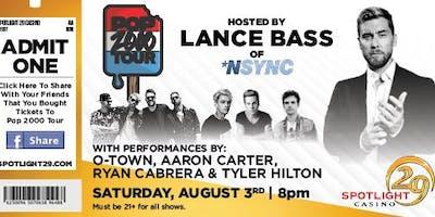 VIP Experience with Lance Bass - Coachella, CA