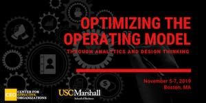 Optimizing the Operating Model through Analytics and...