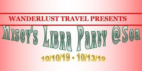 Libra Party at Sea tickets
