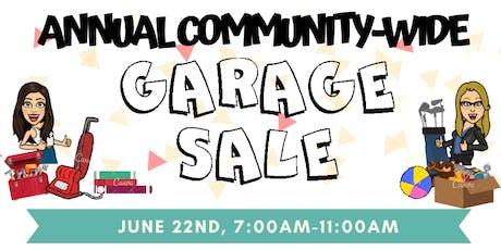 Community Garage Sale-June 22nd tickets