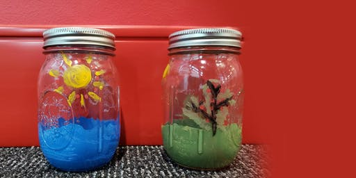 MAKE, CRAFT& DO: DIY Painted Mason Jars