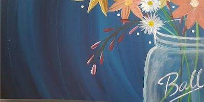 An Evening With Paintergirl~Sunset Fleurs