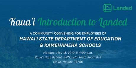 Hawaii Landed Informational Session Kauai Tickets